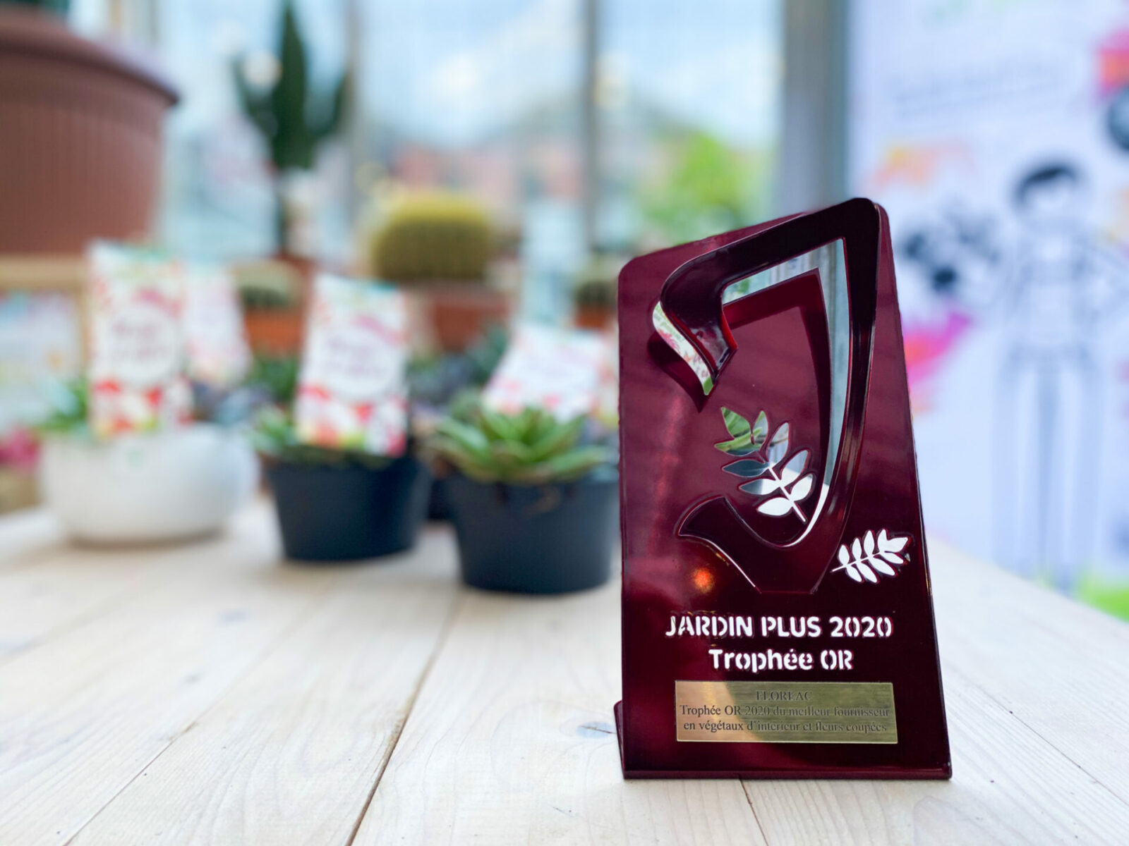 Trophée d'or JARDINPLUS 2020
